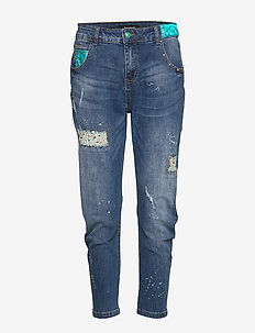 DENIM LENNON - straight jeans - denim medium wash
