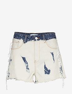 DENIM KALGARY - short en jeans - denim bleach