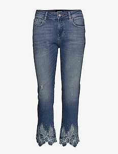 DENIM HAWIBI - straight jeans - denim medium wash