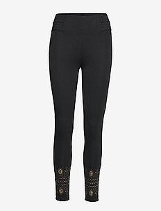 LEGGING EXOTIC - leggings - negro