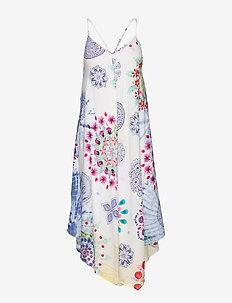 VEST MANLY - sukienki do kolan i midi - blanco