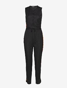 PANT CRAYONS - jumpsuits - negro