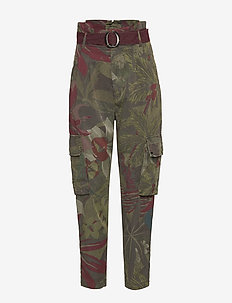 PANT WILDYOU - casual trousers - verde militar