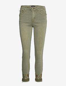 PANT ONEIL - jeans skinny - verde militar