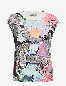 TS VIENA - t-shirts - carmin