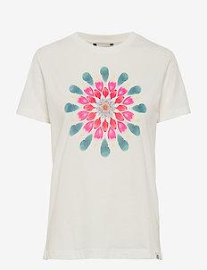 TS MILAN - t-shirts med tryk - blanco