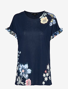 TS MUNICH - t-shirts - navy