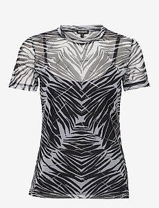 TS JULIA - short-sleeved blouses - negro