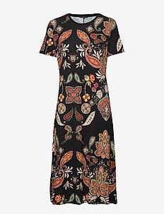 VEST MISURI - sukienki do kolan i midi - negro