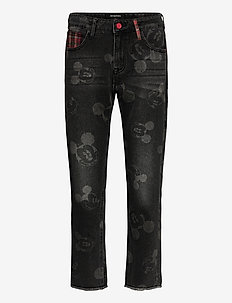 DENIM MERY - proste dżinsy - denim black wash
