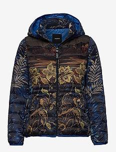 PADDED ANKOR - padded jackets - marino