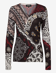 JERS BERGEN - bluzki z długimi rękawami - negro