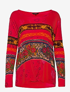 TS YESS - bluzki z długimi rękawami - fresa