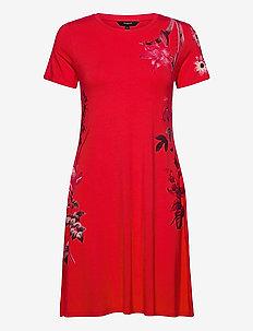 VEST CAROLINE - sukienki do kolan i midi - carmin