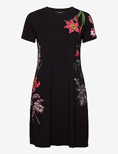 VEST CAROLINE - korte jurken - negro