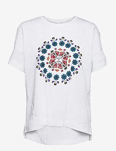 T SHIRT OVERSIZE GALACTI - t-shirts - blanco