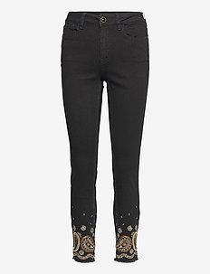 DENIM BELGICA - skinny jeans - negro