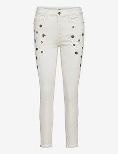 DENIM AUSTRIA - slim jeans - blanco nieve