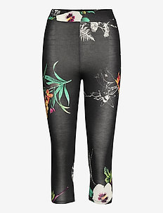 LEGGING BOTANIC - leggings - negro