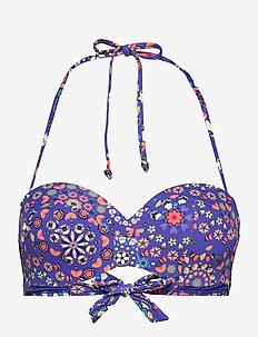 BIKI BAHAMAS - bikinitoppar - azul klein