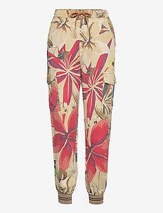 PANT TOUCHE - kläder - beige safari