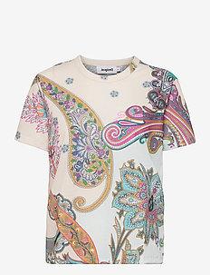 TS POPASLEY - t-shirts - crudo