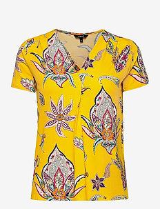 TS LEMARK - t-shirts - amarillo canario