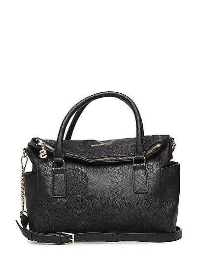 a57de6cbacd Bols Dark Amber Loverty (Negro) (£64) - Desigual Accessories - Bags ...