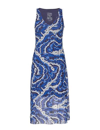 Vest Belmopan Kleid Knielang Blau DESIGUAL