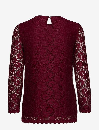 Desigual Blus Mila- T-paidat & Topit Rojo Oscuro