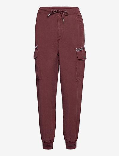 PANT GRETA - clothing - borgoÑa