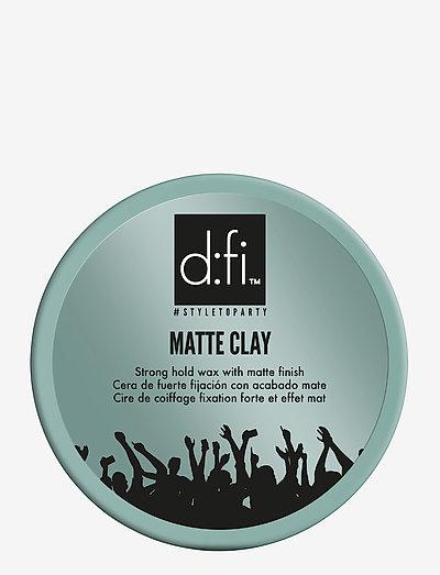 D:FI MATTE CLAY - wax - no color
