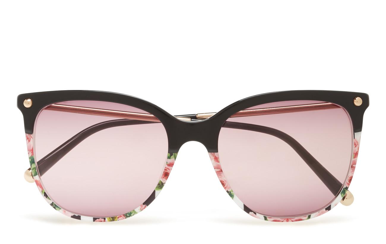 Rose Gabbana Sunglasses On stripeDolceamp; 0dg4333top Print Black kiZuXOP