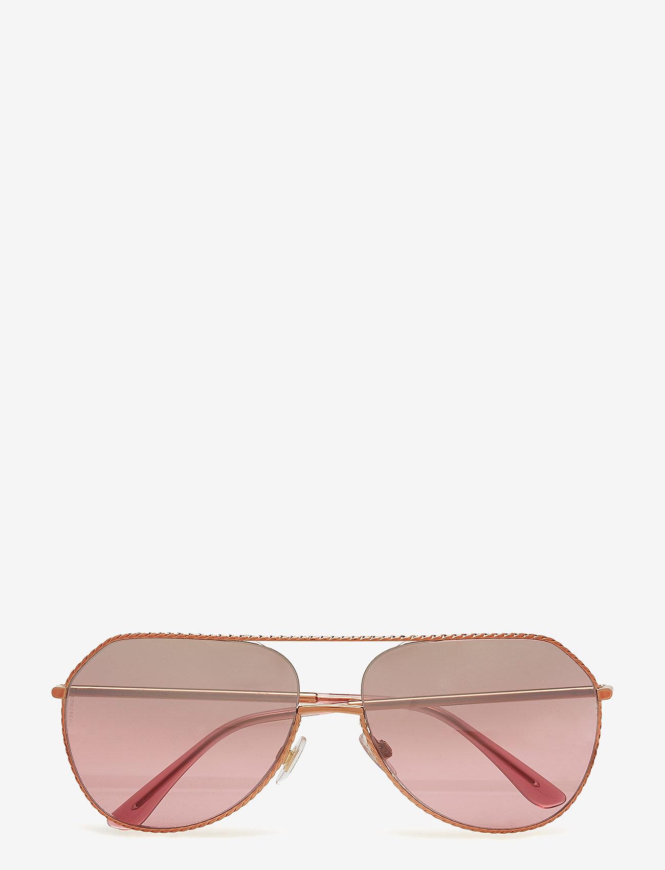 Dolce & Gabbana Sunglasses - WOMEN'S SUNGLASSES - okulary przeciwsłoneczne aviator - pink gold - 0