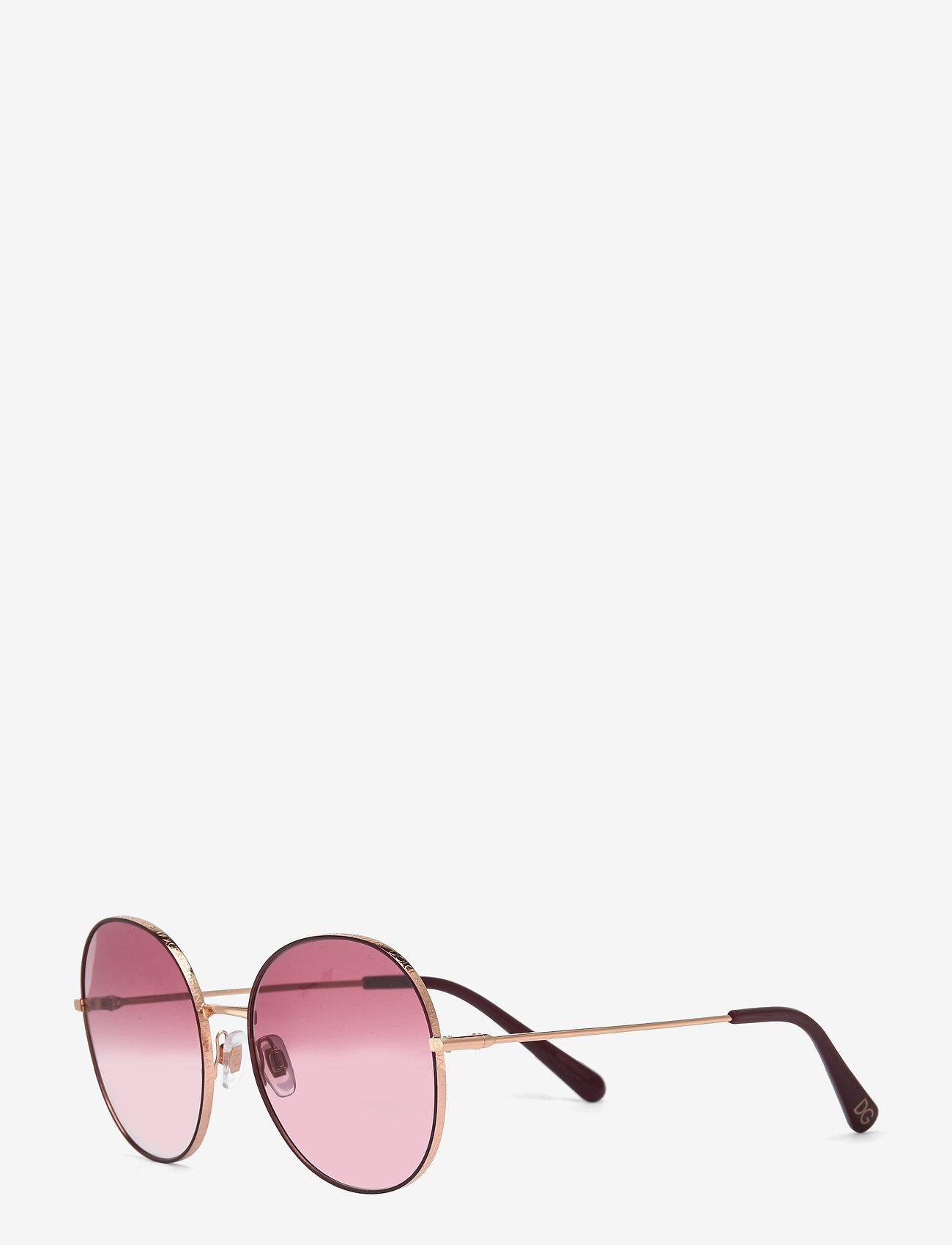 Dolce & Gabbana Sunglasses - Sunglasses - rond model - clear gradient dark violet - 1