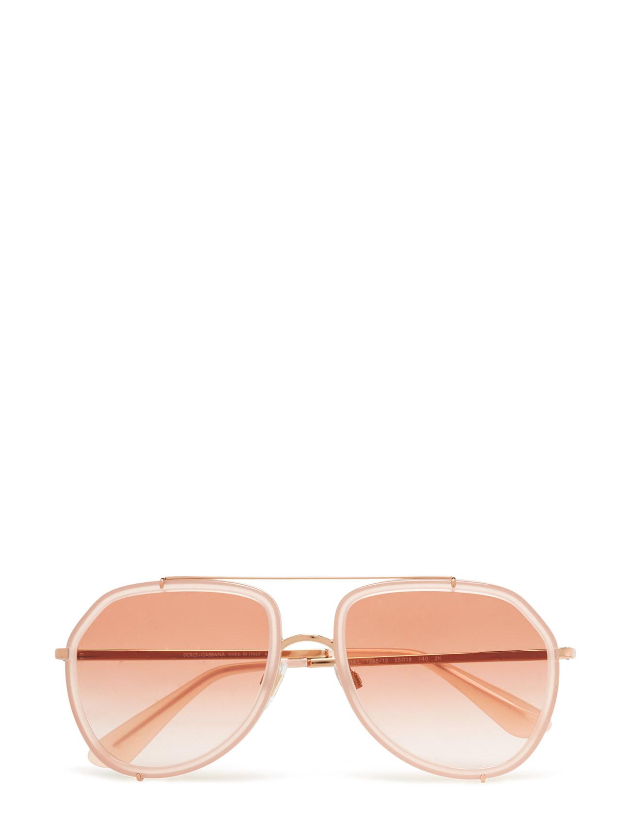 2a85f6c16190 Dolce   Gabbana Sunglasses Aviator (Opal Pink pink Gold)