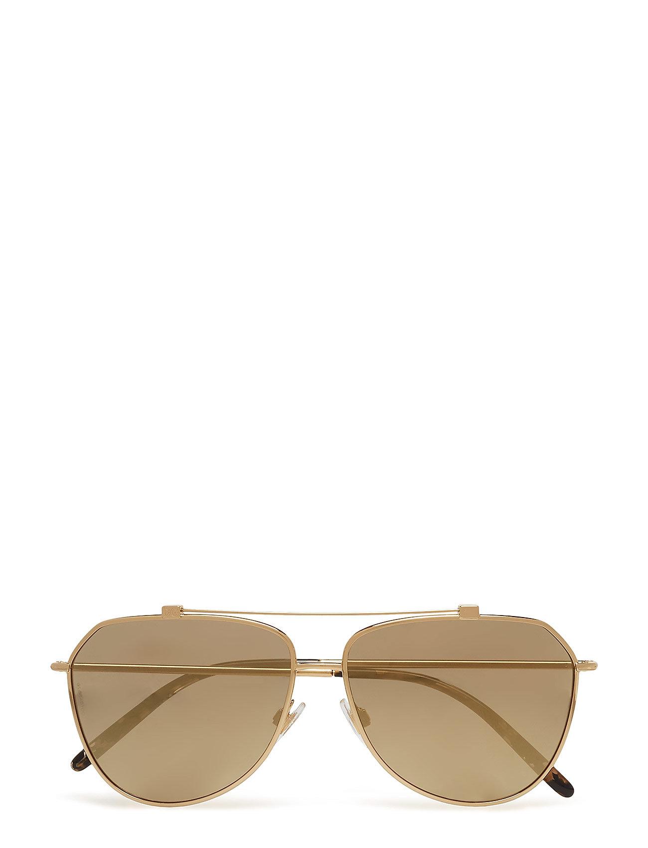 DOLCE & GABBANA Women'S Sunglasses Pilotensonnenbrille Sonnenbrille Gold DOLCE & GABBANA SUNGLASSES