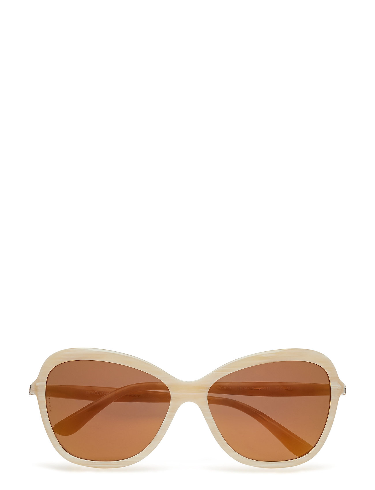 Cat Eye Sonnenbrille Beige DOLCE & GABBANA SUNGLASSES