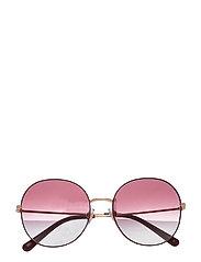 Sunglasses - CLEAR GRADIENT DARK VIOLET