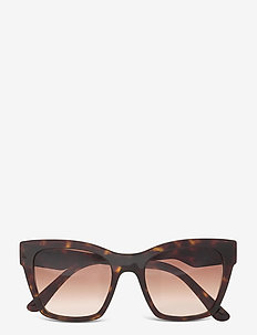 Sunglasses - cat-eye - gradient brown