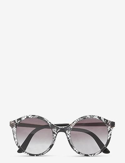 Sunglasses - runde form - gradient grey