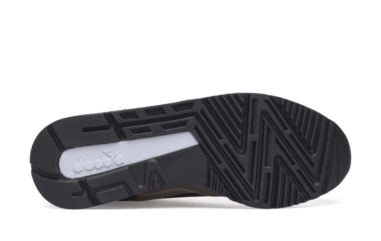 cobblesto V7000 Caoutchouc Semelle Black Extérieure Bean Weave Diadora 0AxqXdIq