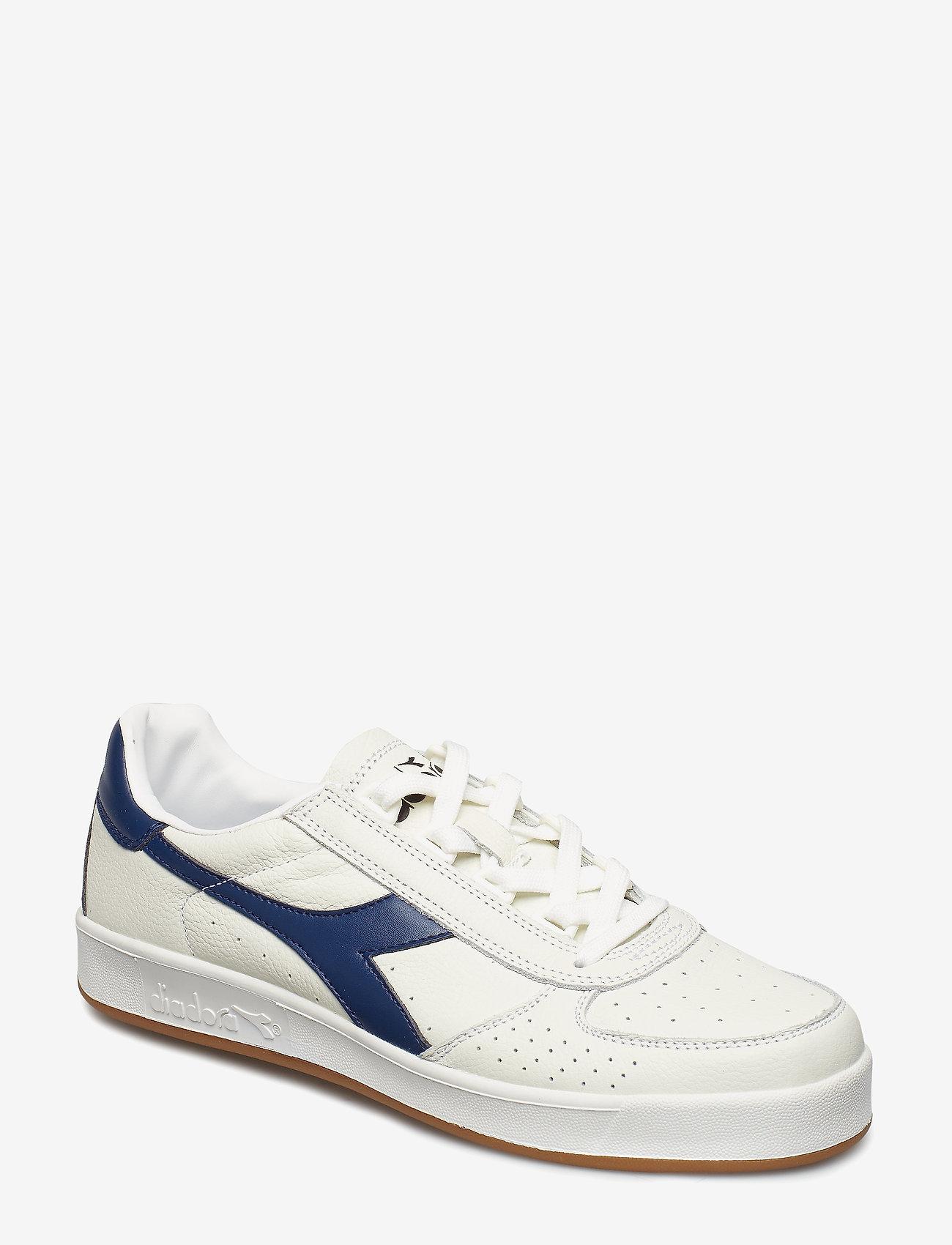 Diadora - B.ELITE L - baskets basses - white/ navy (c2816)