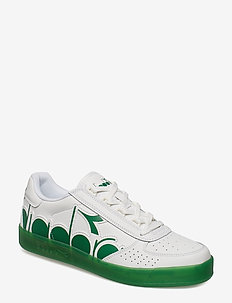 B.ELITE BOLDER - låga sneakers - wht/peas cream