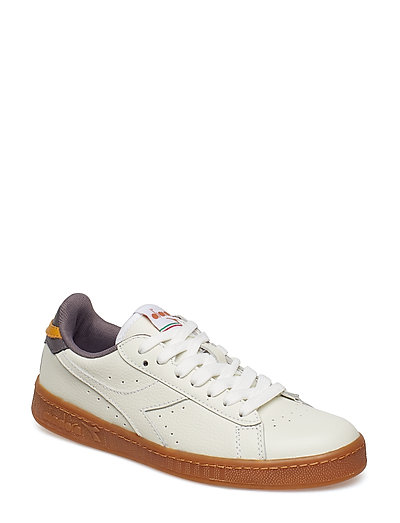 GAME L LOW - WHITE/PLUM KITTEN/IN