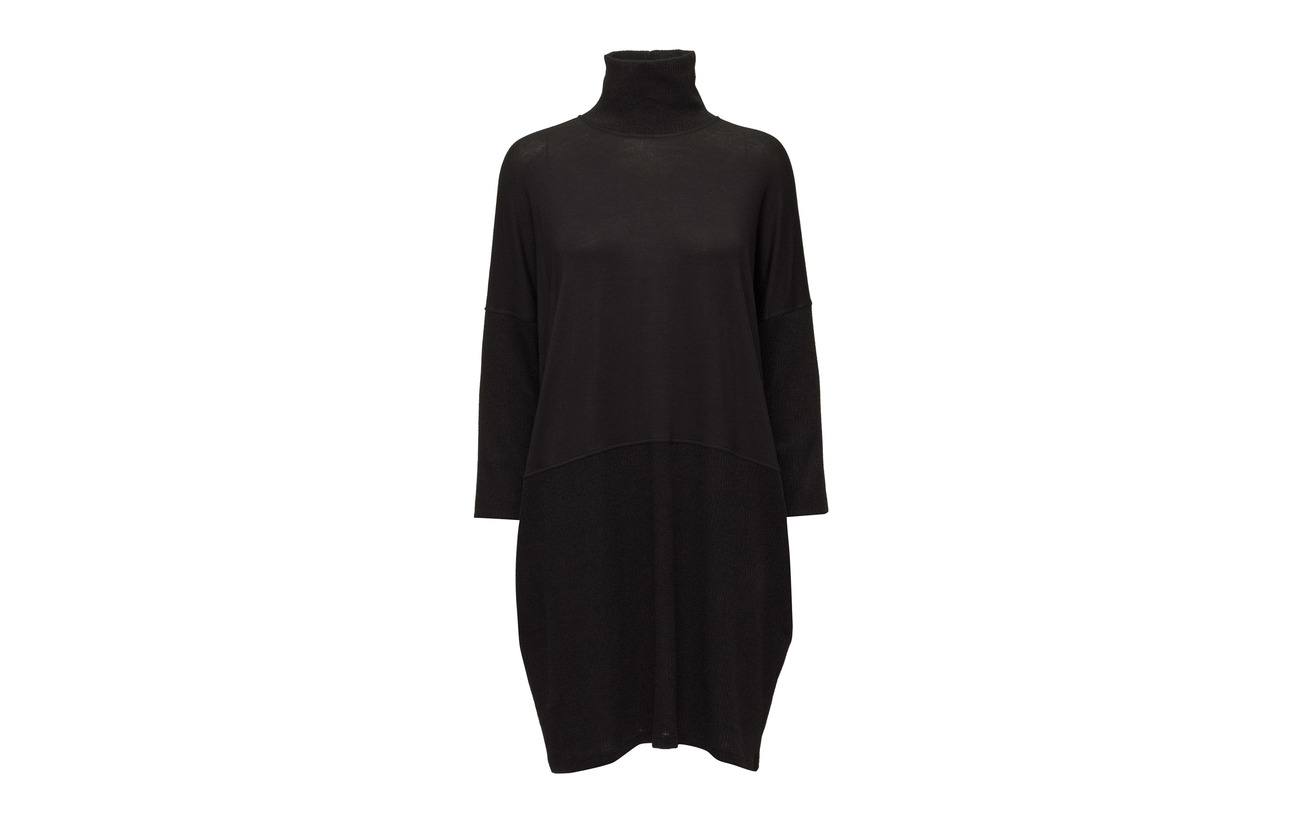 Polo Viscose Black Diana Polyester 95 Elastane 4 Dress Rib 96 5 Orving 4Xxqw5x6