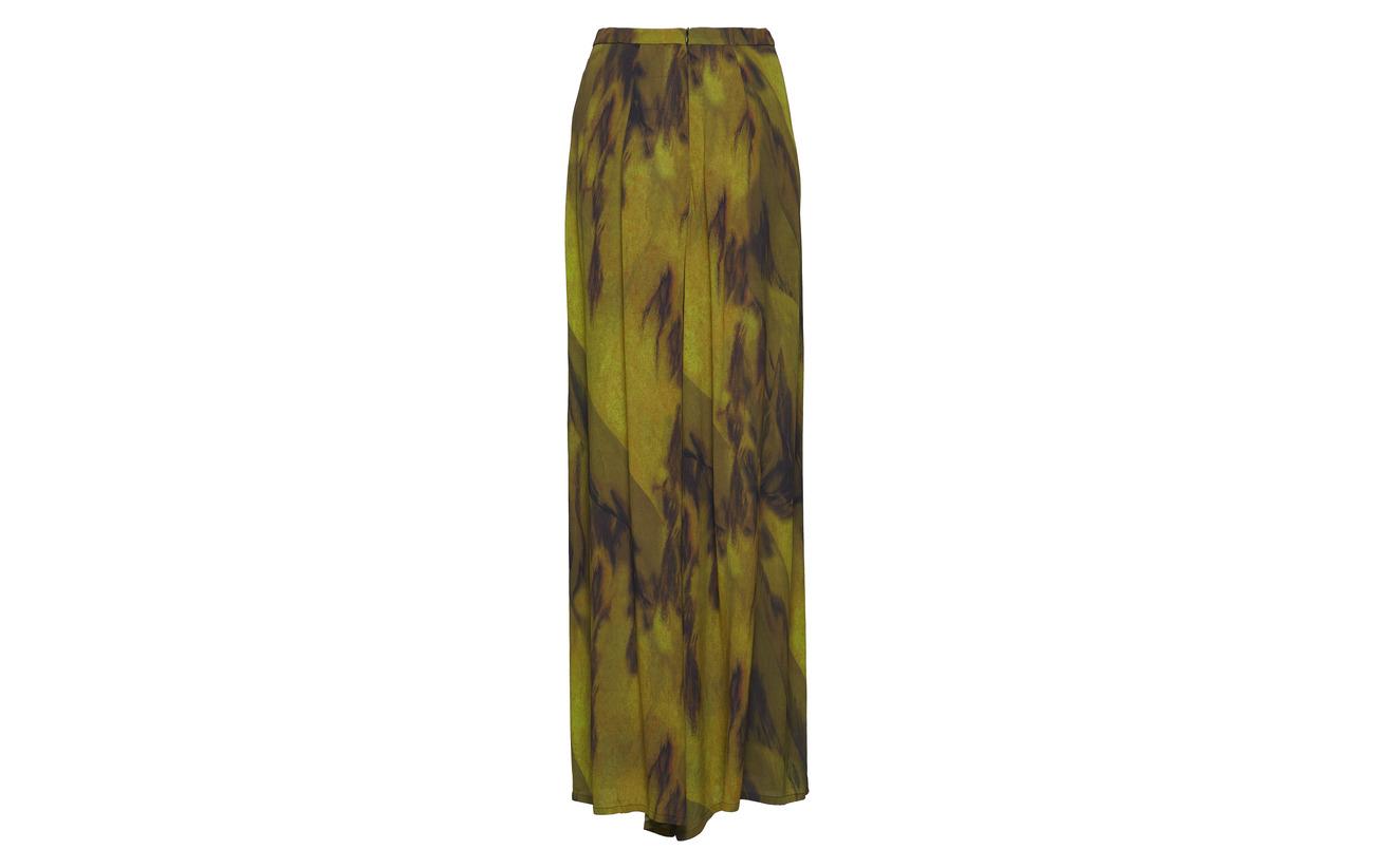 Pant 100 Diana Viscose Yellow Orving Wide Tq1WwzWH4