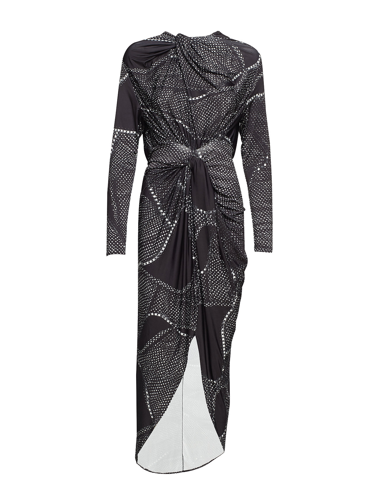 Diana Orving Twisted Long dress - PRINT