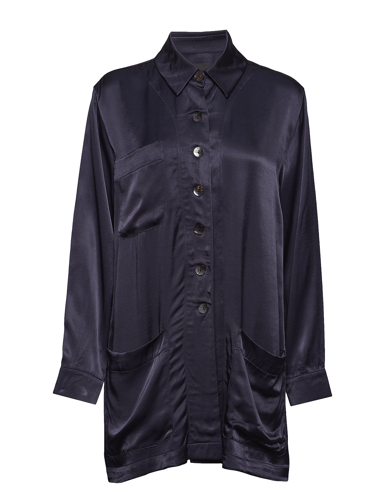 Diana Orving Shirt jacket - BLUE