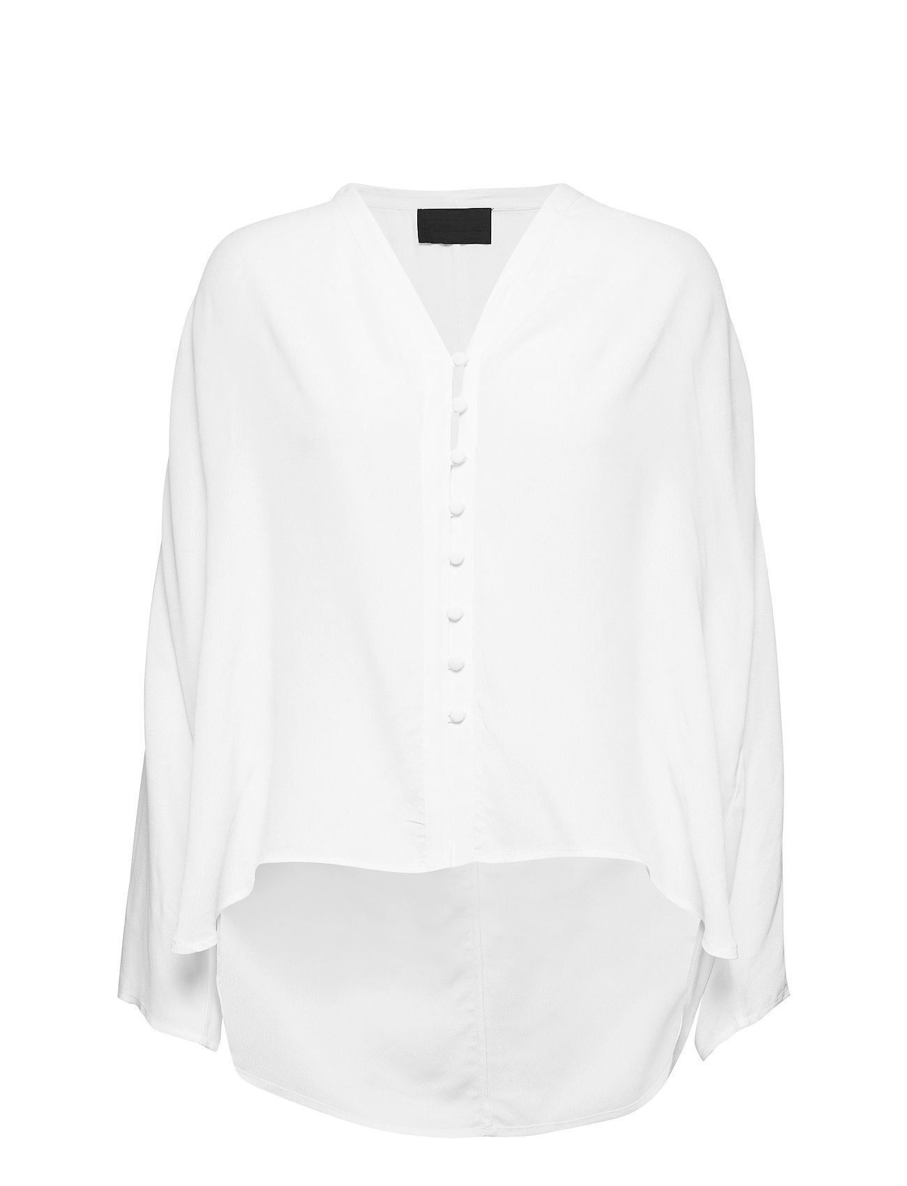 Diana Orving Buttoned Blouse - WHITE